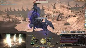 Ffxiv Ixion Fate Mount A Horse Outside Youtube