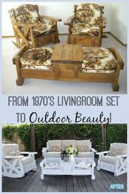 Outdoor Deck Furniture by Best 25 Patio Furniture Makeover Ideas On Pinterest Cleaning