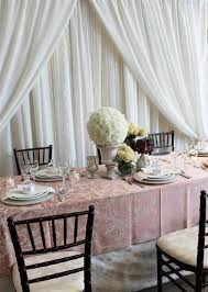 White Drape Wedding Drape Fabric Backdrop Rental