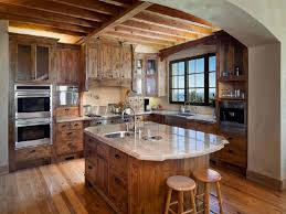 Tuscan Style Kitchen Cabinets Painting Kitchen Cabinets Tuscan Look Giving Bold Statement For