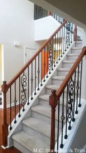 iron baluster upgrade from m c staircase u0026 trim removal of