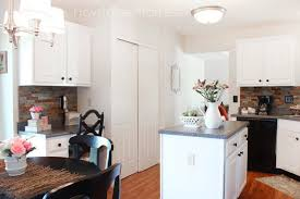 How To Paint My Kitchen Cabinets White Kitchen Cabinet Makeover Reveal How To Nest For Less