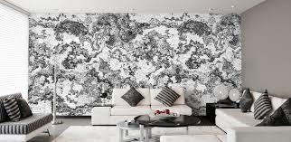 Wohnzimmer Design Wandgestaltung Wandgestaltung Grau Weis Wohnzimmer Malerei Interior Design