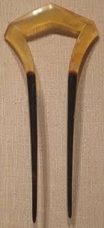 file ornamental japanese hair pin tortoiseshell edo or taisho