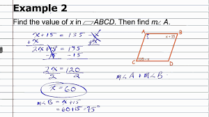 properties of parallelograms worksheet using properties of parallelograms geometry how to help