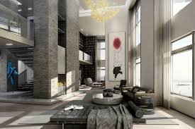 pricey luxury penthouse in new york as urban living space amazing