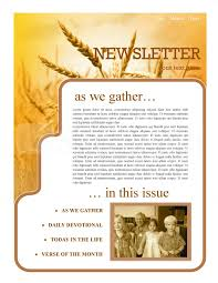 history of thanksgiving newsletter template template newsletter