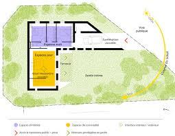 plan maison cuisine ouverte délicieux cuisine ouverte ilot central 18 plan maison plain