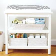 Changing Table Storage Baskets Changing Table Storage Open Weave Large Changing Table Basket
