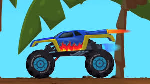 kids monster truck video monster truck video game play for kids toy truck monster