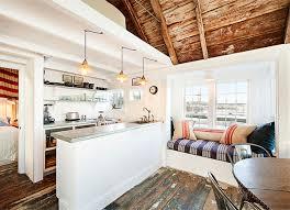 Coastal Cottage Kitchens - small seaside cottage kitchen captain jack u0027s wharf style