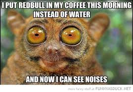 Funny Monkey Memes - funny monkey memes redbull in my coffee funny as duck funny