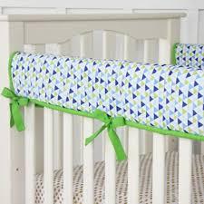 Preppy Crib Bedding Caden â Preppy Crib Rail Cover Buybuybaby Landyn