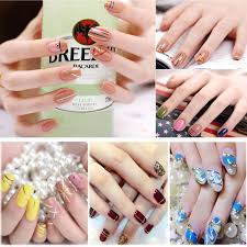 12pcs mix color nail art thin striping tape glittery line diy