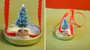 mini snow globe ornaments make do crew