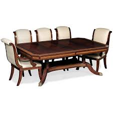 mahogany extending dining table sophisticated glamour