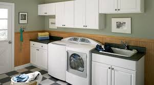 White Cabinets For Laundry Room Create A Cozy Laundry Room Cabinets Lowes Rooms Decor And Ideas