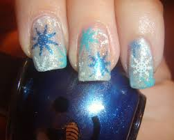 nail designs snowflake how you can do it at home pictures
