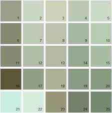 green paint swatches the perfect paint schemes for house exterior benjamin moore green