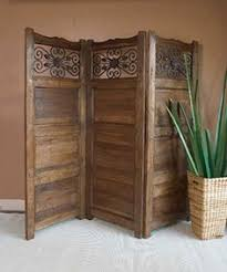 Wooden Room Dividers by Free Shipping Antique Multi Color Indian Four Panel Screen Wood