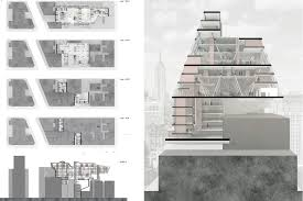 micro studio layout micro housing by donghyun kim second prize entry for