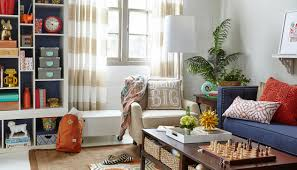Create A Family Room From Scratch With HomeGoods - Fun family room