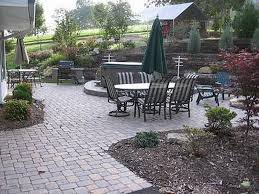 Backyard Concrete Ideas Triyae Com U003d Ideas For Outdoor Patios Various Design Inspiration