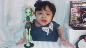 monster high fangtastic fitness venus mcflytrap doll review youtube