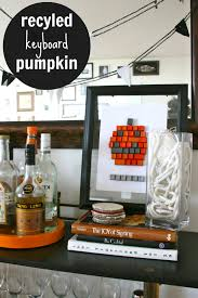 Halloween Recycled Crafts by Halloween Crafts Keyboard Pumpkin C R A F T