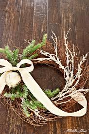 diy traditional christmas wreath tidbits u0026twine