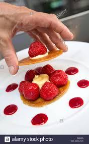 cours cuisine chartres millefeuille strawberries lemon original cuisine laurent