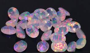 white opal faceted gilson opal opals u0026 more 5mm white faceted heart opal