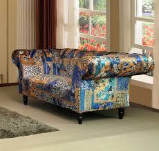 Chesterfield Patchwork Sofa by We Sell Any Sofas Crushed Velvet Leather Fabric U0026 Corner