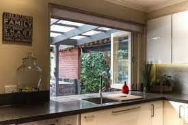 modern kitchen servery window fold up windows at sink www