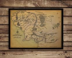 Lotr Map Map Of Middle Earth Middle Earth Map Lord Of The Rings