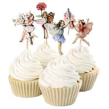 Easter Decorations To Buy by Aliexpress Com Buy 48pcs Flower Fairy Cupcake Toppers Picks For