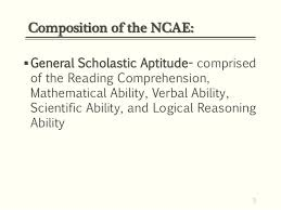 reading comprehension test ncae 2014 ncae test admin guidelines ms dolly pagatpatan