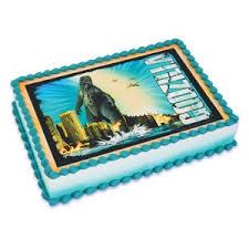 godzilla cake topper godzilla edible image cake topper toys