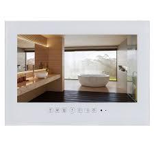 tv pour cuisine souria 15 6 pouce ip66 noir salle de bains tv led blanc étanche