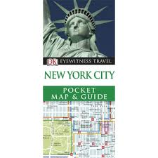 dk eyewitness pocket map and guide new york city world travel