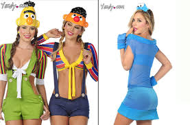 Sesame Street Halloween Costumes Adults Wrong Trashy Sesame Street Halloween Costumes