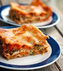 skinny veggie lasagna recipe pinch of yum