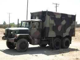 jeep van truck 1970 kaiser jeep m109a3 2 5 ton 6 6 shop van for sale u2013 mark u0027s