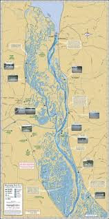 Map Of Ms Mississippi River Pool 9 Fold Map