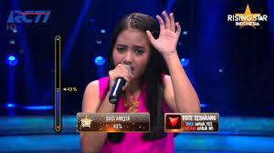 download mp3 hanin dhiya nike ardila hanin dhiya because of you kelly clarkson rising star indonesia