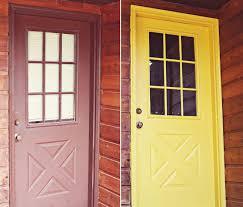 yellow painting a door jessica color painting a door very