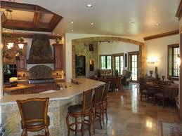 kitchen open floor plan living room kitchen open floor plan dark brown rectangle mirror