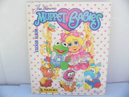 1988 jim henson u0027s muppet babies sticker album vintage 1980 u0027s