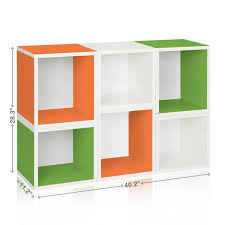 stackable cube organizer easy eco formaldehyde free way basics