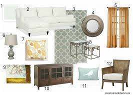 Home Design Board by Home With Baxter Design Board Blue And Gold Family Room